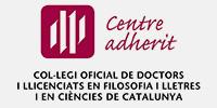 Centre adherit, col·legi oficial de doctors i llicenciats en filosofia i lletres i en ciències de Catalunya